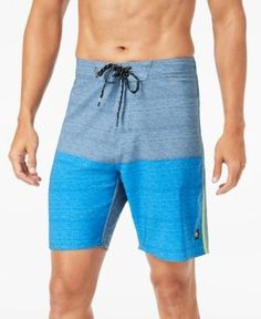 Rip Curl Men's Mirage Blockade Colorblocked Swim Trunks - Blue 30