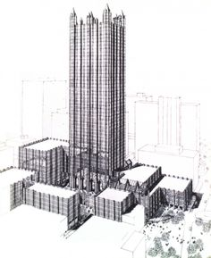 AD Classics: PPG Place / John Burgee Architects with Philip Johnson
