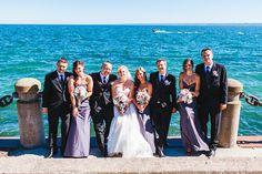 Toronto Portrait for Wedding by Lake Ontario