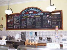 Beth Marie's Old Fashioned Ice Cream, Denton, Texas.       -------      http://www.bethmaries.com