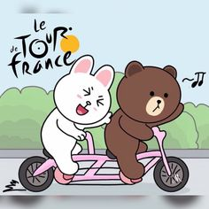 Cute Love Pictures, Cute Love Gif, Cony Brown, Brown Bear, Bear Gif, Chibi Cat, Hello Kitty Images, Brown Line, Bunny And Bear