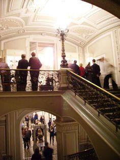 In Mariinsky Theatre (Saint-Petersburg) during intermission