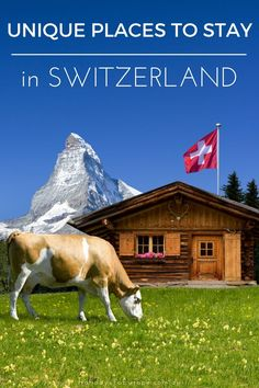 Unique places to stay in Switzerland Forget boring hotels! When visiting Switzerland, why not stay in unique accommodation like yurts, teepees and even wine barrels! / Click the image to find out more about these unique places to stay in Switzerland. Switzerland Cities, Visit Switzerland, Switzerland Vacation, European Destination, European Travel, Europe Travel Tips, Travel Guides, Travel Destinations, Cool Places To Visit