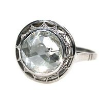 The Supreme Illusion - Rose Cut Diamond Ring