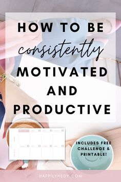 Productivity Challenge, Productivity Quotes, How To Improve Productivity, Productivity Management, Work Productivity, Productive Things To Do, How To Be Productive, How To Get Motivated, Self Development