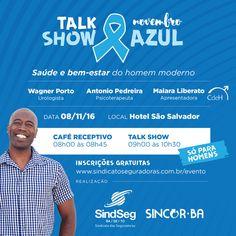 """SindSeg BA/SE/TO e Sincor-BA realizam talk show """"Saúde e bem-estar do homem moderno"""""""