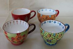 I bought these tea cups in Marshalls...