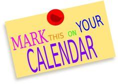 mark your calendar clipart free clip art images quotes pinterest rh pinterest com mark your calendar clipart mark your calendar clipart images
