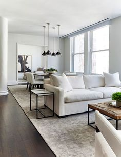 A simple neutral living room design | Chango & Co.