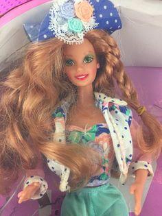 Barbie TEEN TALK 1991 Talking Doll 5745 Redhead?  | eBay