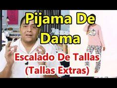 📏📐Patrones De Pijama De 💃Dama y 💢Escalado De Tallas💢 (Tallas Extras) - YouTube Pajama Pattern, Youtube, Diy Clothes, Sewing Patterns, Sports, Facebook, Escalade, Motifs, Compost