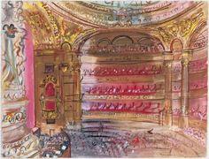 """The Opera, Paris"" Raoul Dufy, 1924 The Phillips Gallery, Washington D.C."