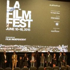 LAFilmFest premiere of #Consumed.  Finally a movie that spotlights the extreme health hazards of GMO's AND the governments blatant FU to us as citizens by not labeling our food, and therefore blocking our freedom to choose what goes into our bodies.  Wonderful film!  #damntheman #fuckgmos #corporatteassholes #victorgarber #zoelisterjones #darrylwein #consumedmovie #laff #LAFilmFest #filmindependent