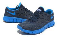 sale retailer fa84d 878a8 Vendre Pas Cher Homme Free Run 2 VV Chaussures Noire Royale Bleue en ligne  dans France - VendreFree.com