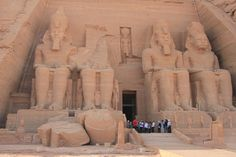 Temple of Ramesses II - Abu Simbel,  Egypt - Photo