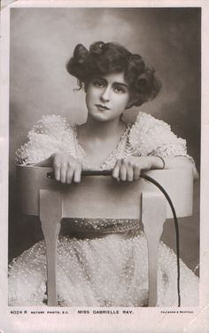 Gabrielle Ray in The Little Cherub 1906