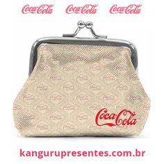 Porta Moedas original da Coca-Cola na http://kangurupresentes.com.br  #kangurupresentes #cocacola #portamoedas
