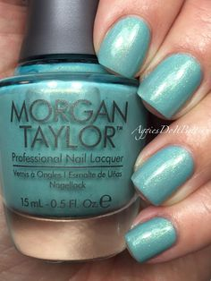 Today I have another new-to-me brand that I've been sitting on for a while! Morgan Taylor came out with a collaboration collection. Morgan Taylor, Nails 2015, Cinderella 2015, Spring Break, Palace, Swatch, Nail Designs, Nail Polish, Party
