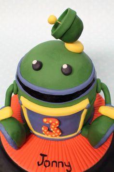 Team Umizoomi 'Bot' cake