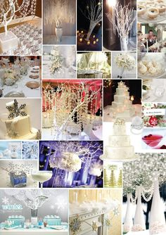 Winter Wonderland Wedding | ... searching for some more Christmas/winter wonderland inspiration