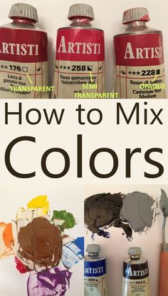 to mix colors. Pigments for oil painting and understanding the color wheel and mixing oil paints. The color wheel, complementary colors, oil paint types, which pigment to choose, color palettes and color charts tutorial.