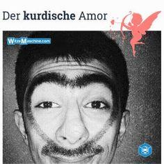 Kurdischer Amor - Kurdenwitze - Augenbraue Fail