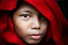 Novice Monk | Myanmar (by David_Lazar)
