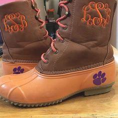 sast cheap online cheap discount authentic Women's Clemson Tigers Low ... Duck Step-In Shoes discount best wholesale n5r9jZaF