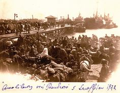 1922 Tekirdağ Yunanlıların tahliyesi