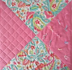 Great ideas and tutorials on various ways to quilt a quilt.