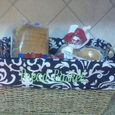 Thirty One bread basket!
