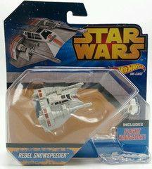 Star Wars Hot Wheels Rebel Snow Speeder Toy Ship Die-Cast new - keywebco - 1