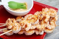 Smart Balance Recipe - Grilled Shrimp Kabobs with Creole Butter