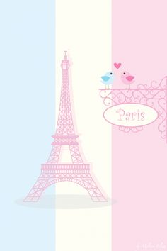 Cute paris wallpaper