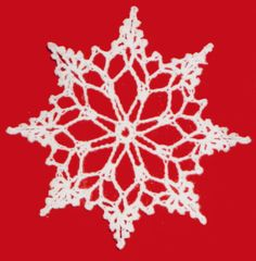 FP289 Snowflake Ornament