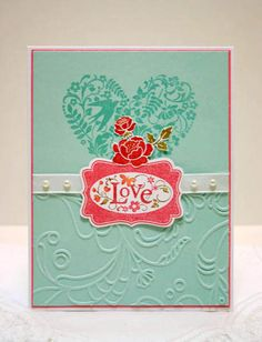 You Are Loved by sleepyinseattle - Cards and Paper Crafts at Splitcoaststampers