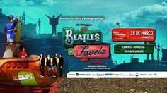 Beatles na Favela - O Musical:  domingo no Teatro do Bourbon Country em Porto Alegre