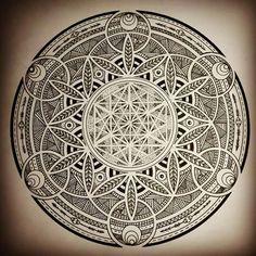 Anurita sahi на доске mandala в 2019 г. Geometric Drawing, Mandala Drawing, Mandala Tattoo, Mandala Art, Geometric Shapes, Sacred Geometry Symbols, Sacred Geometry Tattoo, Magic Circle, Flower Of Life