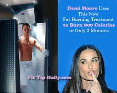 Freeze Your Fat Off - The new weight loss and sports craze that has Celebs like Demi Moore and Kobe Bryant booking appointments    #fatloss #fitness #demimoore #Kobybryant #weightloss #health