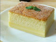 Make the fluffiest pandan cake, plus the creamiest kaya custard. Assemble the most beautiful pandan kaya cake. Food Cakes, Cupcake Cakes, Sweet Recipes, Cake Recipes, Simply Recipes, Ogura Cake, Magic Custard Cake, 3 Layer Cakes, Chocolate Sponge Cake