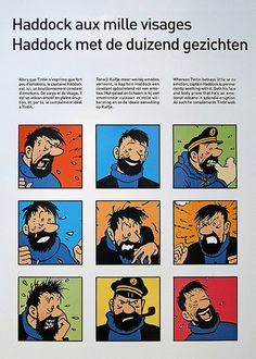 Flickr • Captain Haddock from a display at the Comic museum in Brussels • Tintin, Herge j'aime