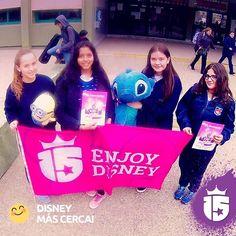 También estuvimos con las chicas del Domingo Zipoli de Córdoba!  Vamos que se acerca #Disney!