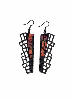 Hey, I found this really awesome Etsy listing at https://www.etsy.com/listing/225246653/earrings-modern-contemporary-jewelry