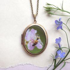 Pollinator Locket -