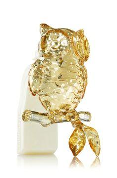 Mercury Glass Owl  Wallflowers Fragrance Plug - Slatkin & Co. - Bath & Body Works