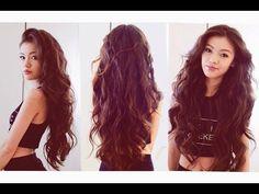 Peinados con cabello ondilado y tutoriales para lograrlo