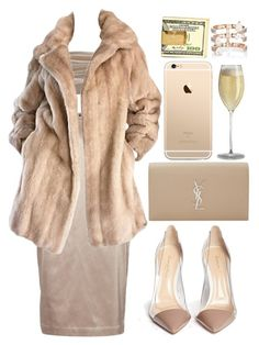 """""""when you're home alone in the mood, i know you wanna move and i know you wanna dance"""" by k-lass ❤ liked on Polyvore featuring By Malene Birger, Dolci Follie, Lilli Ann, Yves Saint Laurent, Gianvito Rossi and Repossi"""