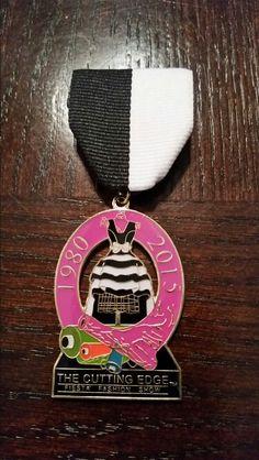 2015 Incarnate Word Cutting Edge Fashion Show medal.