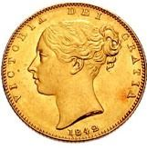 Victoria Young Head Gold Sovereign
