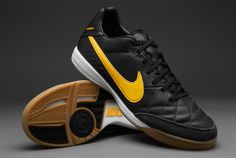 7b277d1fc64 Nike Tiempo Mystic IV Indoor Boots - Charcoal Orng Blk